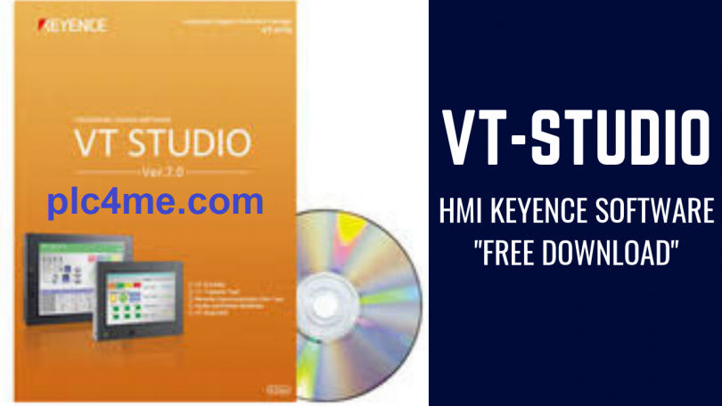 Download] VT-Studio V7 05 – HMI Keyence Software (Real 100